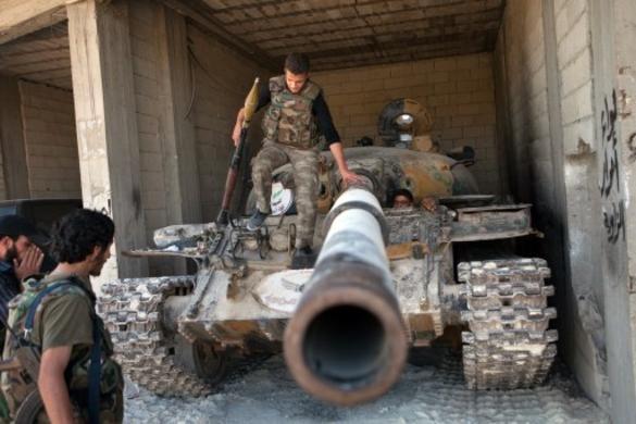 Aleppo forças